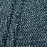 Polsterstoff Möbelstoff Stoff Meterware Blau-Grau meliert