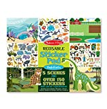 #1: Melissa and Doug Reusable Sticker Pad-Habitats