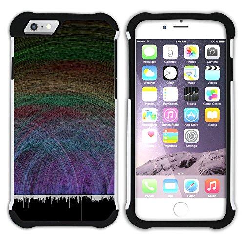 Graphic4You Carlino Guitar Art Case Design Hart + Weiche Kratzfeste Hülle Case Schale Tasche Schutzhülle für Apple iPhone 6 / 6S Design #13