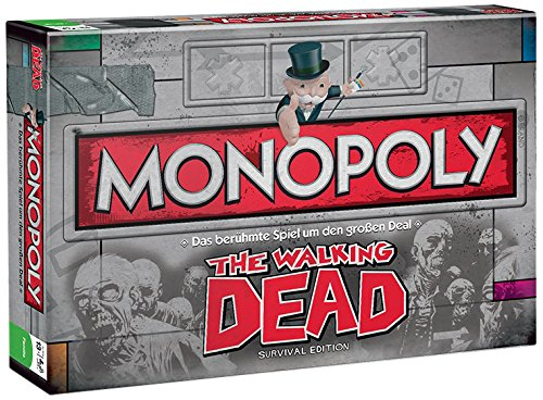 Winning Moves Monopoly The Walking Dead Niños Adultos