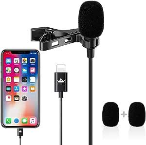 Lavalier Mikrofon Kompatibel Mit Iphone 11 11 Pro 11 Pro Max Iphone X Xs Xr 8 8 Plus 7 7 Plus 1 5 Meter Omnidirektionales Telefon Audio Video Aufnahme Kondensator Mikrofon Musikinstrumente
