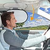 WANPOOL Auto Innenraum Haltegriff Sonnenblende & Sonnenschutz für den Fahrer