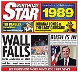 1989 Geburtstags-Geschenke - 1989 Chart Hits CD und 1989 Geburtstagskarte