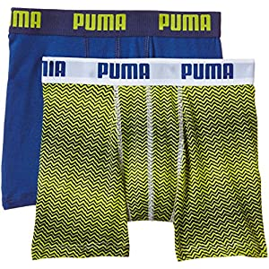 PUMA Jungen Bodywear Nevertame Boxer 2P