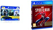 Sony PS4 1 TB Slim Console (Free Games: God of War/Uncharted 4/Horizon Zero Dawn) & Marvel's Spider Man (PS4) - Game of the Y