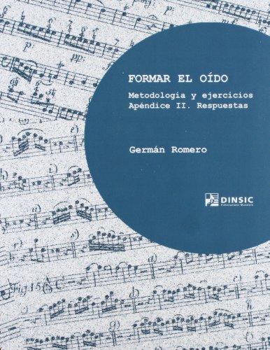 Descargar Libro Formar el oído: metodología y ejercicios (Manuales Universitarios) de Germán Romero