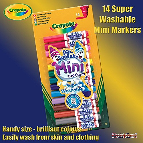 Twistables Marker (b-creative Crayola 14waschbar pip-squeaks Mini-Marker Stifte)