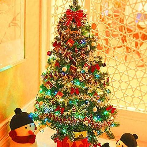 MOREY Ornamento de la Navidad Deluxe 1,8 m de Navidad Conjunto Tree Hotel Compras Decoración de Navidad centro comercial