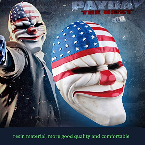 payday-2-dallas-mask-heist-joker-halloween-props-collection-cosplay-clown-mask