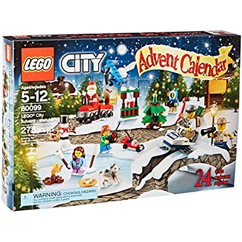 LEGO City Town 60099 Advent Calendar Building Kit(Discontinued by manufacturer) by LEGO
