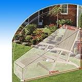 Gartenliege Sonnenliege Gartenmöbel Abdeckplane Schutzhülle Hülle Abdeckung