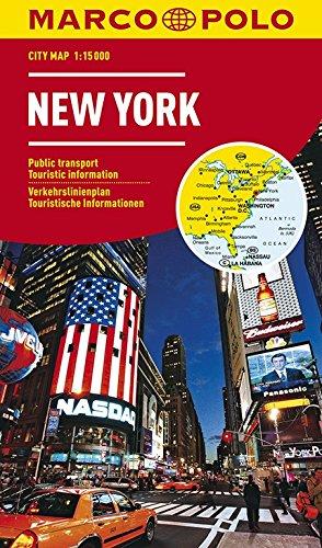 MARCO POLO Cityplan New York 1:15.000: Stadsplattegrond 1:15 000 (MARCO POLO Citypläne) -