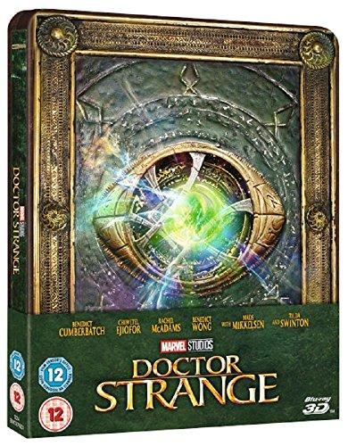 Preisvergleich Produktbild Doctor Strange 2017 3D Includes 2D Version Limited Edition Steelbook / Zavvi Release / Blu-ray Region Free