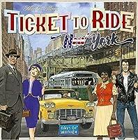 Asmodee Italia Ticket To Ride New York Gioco da Tavolo, Colore Azzurro, 720560