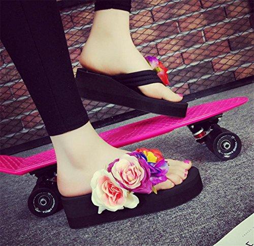 pengweiPantalons de mode femme Et¨¦ Balan?oire Chaussures de plage Chaussures ¨¤ talons 1