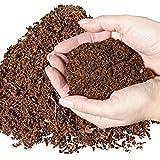 20 Liter natürliches Terrariensubstrat lose im Beutel – 100% reine Kokoserde als Kokoseinstreu Bodengrund Kokossubstrat - 2