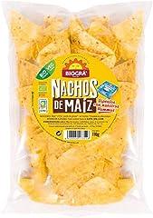 Biográ Snack Aperitivo Nachos de Maíz Ecológico, 110g