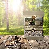 Tiera Natural Hirschlunge | Gesunde Hundeleckerlie Wild | getrocknete Lunge vom Hirsch