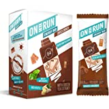ON THE RUN Ragi, Ginger and Choco Chips Energy Bars 180 g (Pack of 6 x 30 g)
