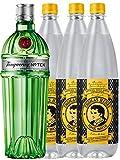 Tanqueray No.10 Ten Gin 0,7 Liter + 3 x Thomas Henry Tonic 1,0 Liter