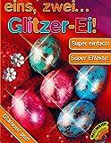 Ostereier Farben Glitzer Ei - Super Silber Effekte