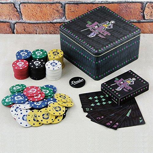 The Joker Pokerset - DC Comics The Joker Poker Set The Joker Pokerchip Batman