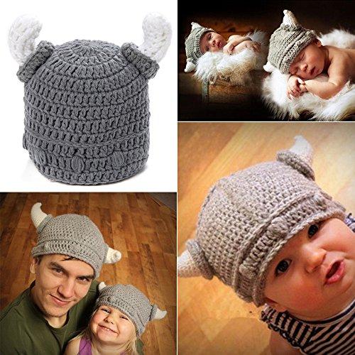 born Kleidung Crochet Knit Kostüm Fotografie Prop Outfits grau ()