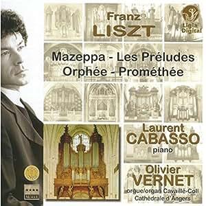 Mazeppa-Les Préludes-Orphée Promethée