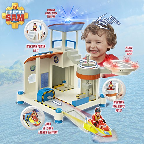 Image of Fireman Sam Ocean Rescue Playset