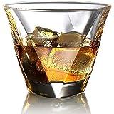 ecooe Whiskeygläser Whiskey Glas Set Whiskybecher 2x300ml für Scotch, Bourbon, Whiskey und Viele Getränke Mehr (MEHRWEG)
