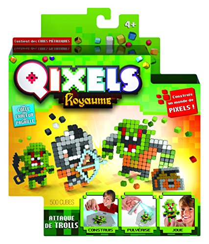 Kanaï Kids - kk87110 - Mini Kit Kreationen qixels Königreich - Thema Troll Attack -