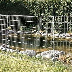 5x Teichzaun Unterbogen GRÜN Tiergehege Gartenzaun Zaun Garten Draht Tierzaun
