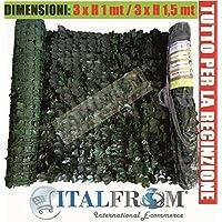 Rete recinzione 150 for Siepe artificiale brico