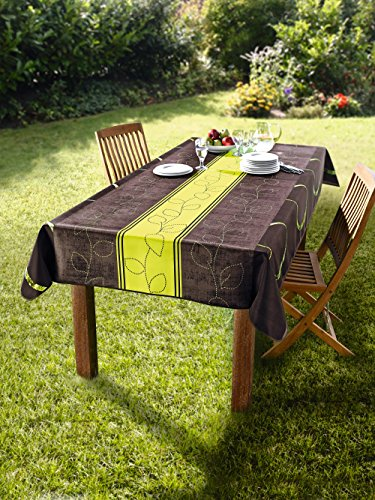 Dekoleidenschaft Tischdecke Outdoor 240 x 148 cm, wetterfest, für Garten, Balkon & Terrasse