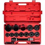 vidaXL Coffret Extraction Roulement de Roue 20 pcs Outils Voitures Garage