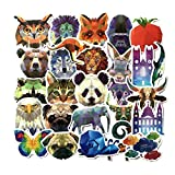 Inveroo 35 Stück Geometrie Galaxy Animal Stickers Baby Kids Toys Graffiti-Decals DIY...