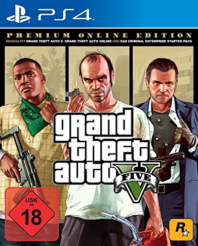 Grand Theft Auto V - Premium Edition - [PlayStation 4] (Playstation 4 Gta 5 Edition)