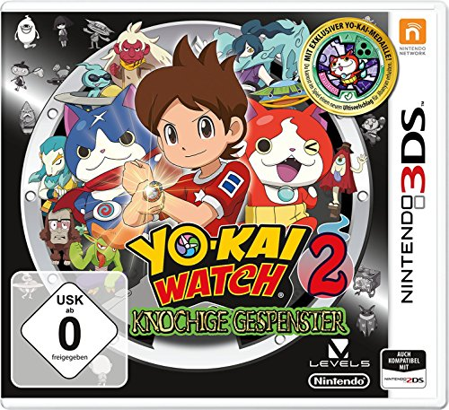 YO-KAI WATCH 2: Knochige Gespenster inkl. Medaille