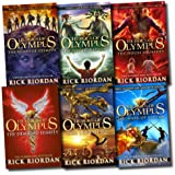 Heroes of Olympus Collection Rick Riordan 6 Books set The Blood of Olympus NEW