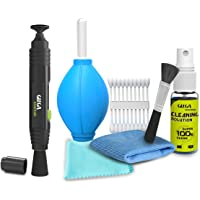 Gizga Essentials Professional Lens Pen Cleaning Pro System + 6-in-1 Cleaning Kit Combo for Cameras and Sensitive…