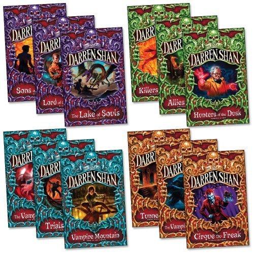 The Saga of Darren Shan Pack, 12 books, RRP 71.88 (Allies of Night,Cirque du...
