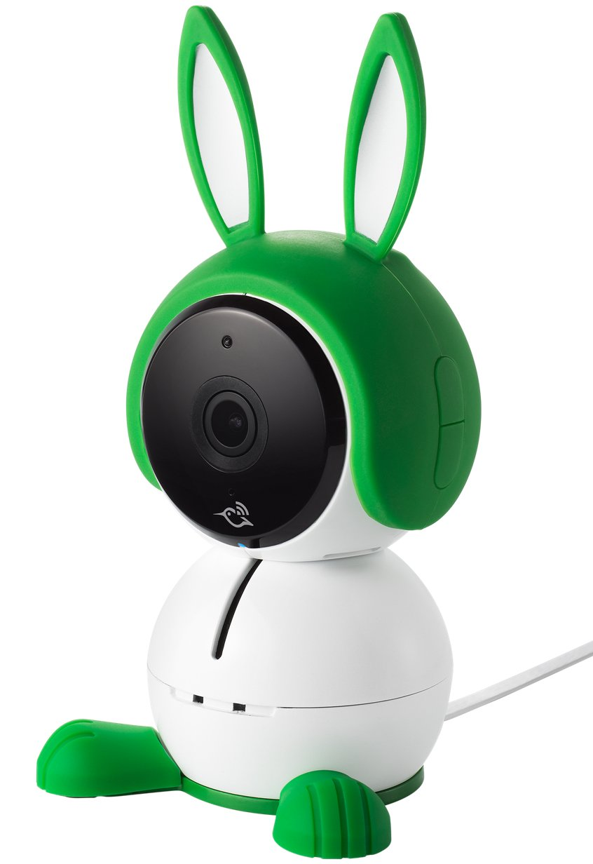 Arlo Baby Monitor Smart WIFI Baby Camera 1080P HD with 2-Way Audio, Night Vision, Air Sensors, Lullaby Player, Night Light, Works with Amazon Alexa, HomeKit (ABC1000) Arlo 1080p HD quality: View live or recorded videos in detail and rich colour; go untethered from a power source for up to 6 hours (up to 3 hours with night vision active) to go where your baby goes Two-way talk: Comfort and talk to your baby from anywhere, whether you're at the office or in the living room; built-in rechargeable battery Enhanced night vision: Near-invisible infrared LEDs lets you see your baby clearly, even in the dark(940nm LED: illuminates up to 15 feet) 2