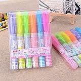 #10: Jiada 6 Colour Highlighter Pen Set