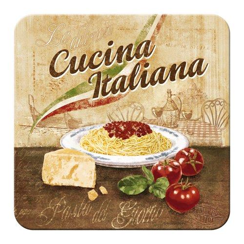 Nostalgic-art-bilderpalette 46123 home, country cucina italiana, dessous-de-plat