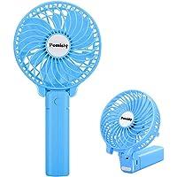 Ventilateur à Main, Mini Ventilateur Silencieux Suspension, USB Rechargeable avec 3 Vitesses, Fan Pliable et Portable…