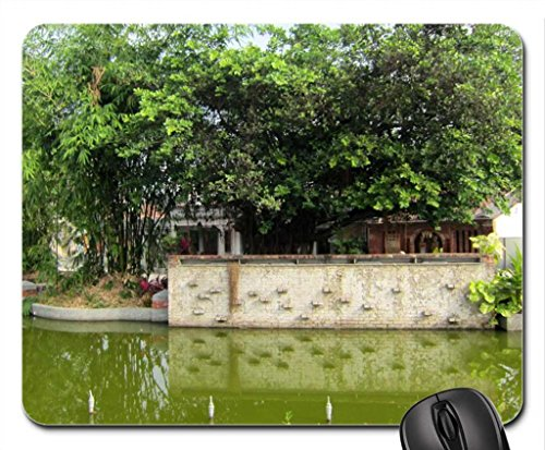 the-pond-in-front-of-the-historic-house-mouse-pad-mousepad-greenroofs-mouse-pad
