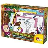 Lisciani Giochi - Masha e Orso Scuola di Disegno, Gioco Educativo per Bambini 3+, 78080