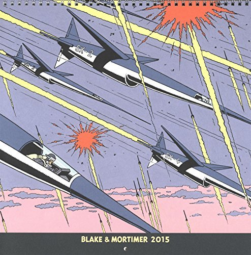 Calendrier 2015 Blake et Mortimer by Collectif