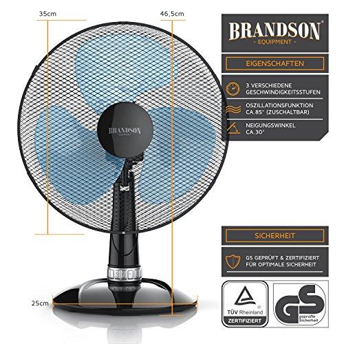 Brandson – Tischventilator 35cm | Tisch kaufen  Bild 1*