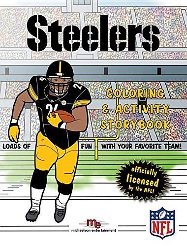 Pittsburgh Steelers Coloring & Activity Storybook by Brad M. Epstein (2015-06-20)